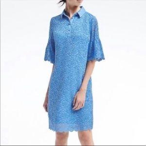 🌻 🆕 Banana Republic Lace Fluter Sleeve Dress